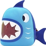 NOHOO Shark Kids Backpacks (For 2-4 Years Old) - NH024