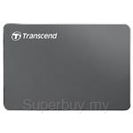 Transcend StoreJet 25C3 2.5 Inch 2TB USB 3.0 Iron Gray Portable Hard Drive - TS2TSJ25C3N