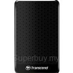 Transcend StoreJet 25A3K 2.5 Inch 500GB USB 3.0 Black Portable Hard Drive - TS500GSJ25A3K