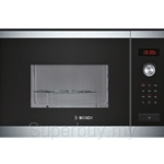 Bosch Series 6 Brushed Steel Microwave Oven with Grill - HMT84G654B