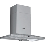 Bosch Series 2 Brushed Steel with Glass Canopy Chimney Hood - DKE908PMY