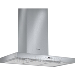Bosch Series 6 Brushed Steel Wall Mounted Chimney Hood - DWB097E50
