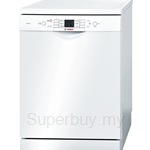 Bosch Series 6 Silence 60cm White Dishwasher - SMS63L02EA