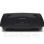 Linksys X1000 N300 Wi-Fi Router with ADSL2+ Modem - X1000-AP