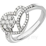 Tomei 18K White Gold Diamond Ring (R3975) - DO0140639