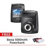 BESTA Car Driving Recorder CR-S71 Free 5000mAh Powerbank worth RM79