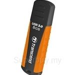 Transcend JetFlash 810 USB 3.0 8GB Flash Drive Orange - TS8GJF810