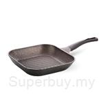 Cheftopf Granoble Square 28cm Grill Pan (Non-Induction Base)