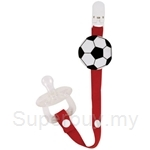 Naforye Pacifier Clip-Soccer - 99316