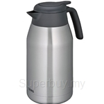 Thermos 2.00L Lifestyle Stainless Steel Black Carafe - THS-2000SBK